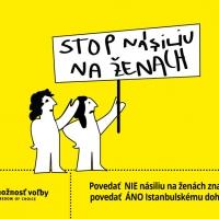 Nie násiliu na ženách Áno Istanbulský dohovor