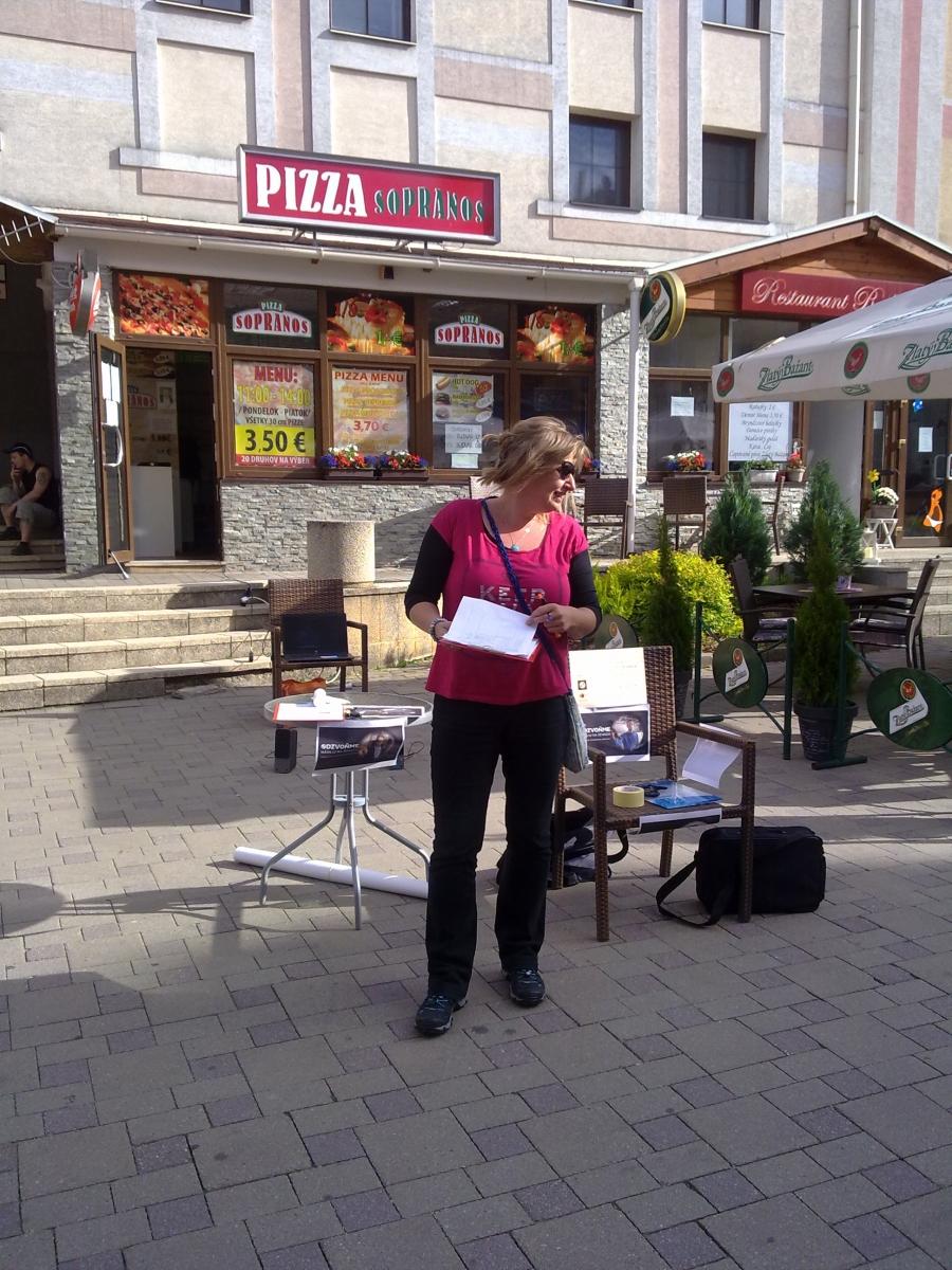 Projekt Odzvoňme násiliu na ženách - Podporme Istanbulsky dohovor
