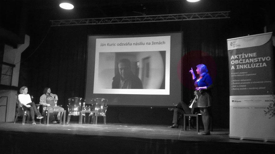 Na konferencii s názvom Dá sa to prezentujeme výsledky kampane Odzvoňme násiliu na ženách - Podporme Istanbulský dohovor.