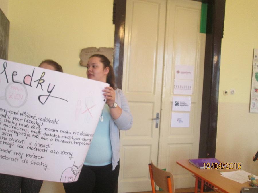 Študenti a študentky z Pedagogickej a sociálnej akadémie v Turčianskych Tepliciach chceli vedieť viac o Hane Gregorovej. Prvá slovenská feministka.