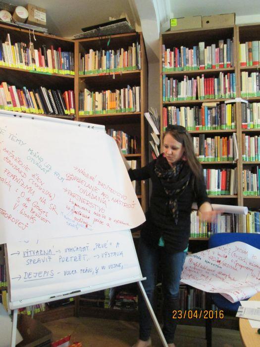 Workshop: Problematika zviditeľňovania žien a podpory rodovej rovnosti vo vzdelávacích procesoch