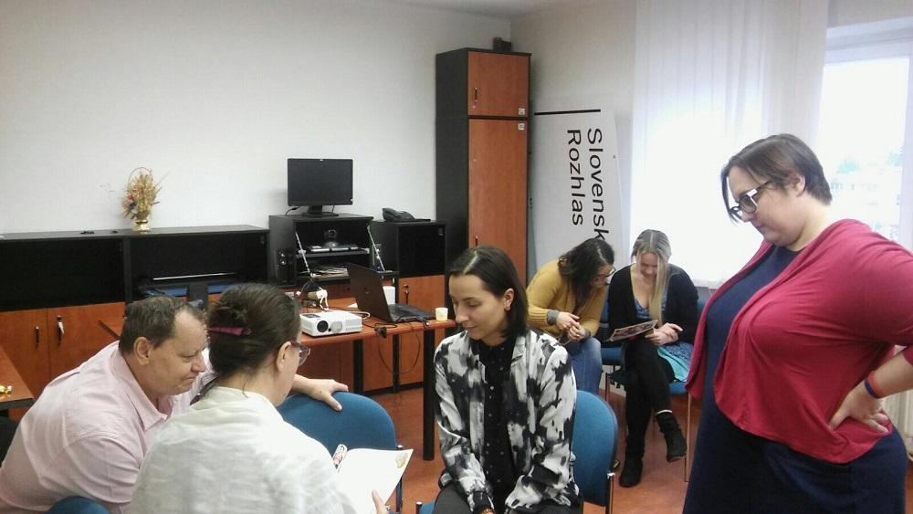 Rodový tréning pre média - RTVS