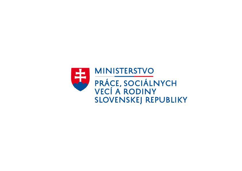 Logo Ministerstvo práce SR