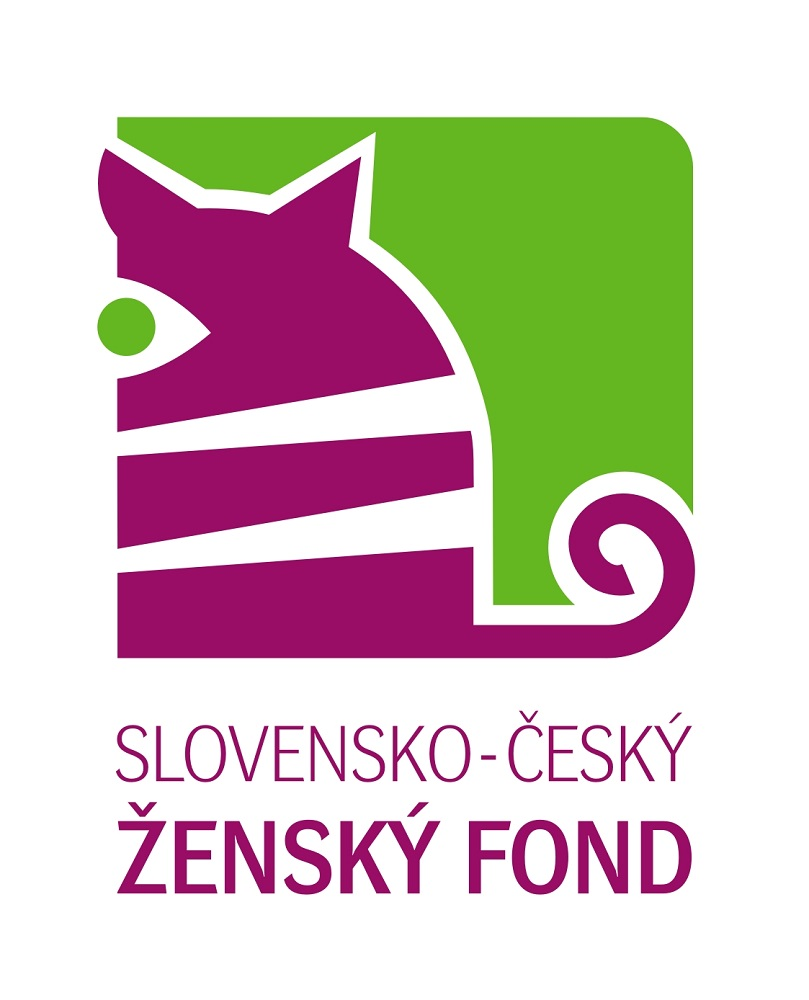 Logo Slovensko český ženský fond